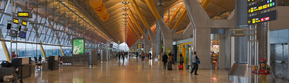 how to get to madrid airport from city centre